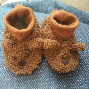 Baby Gap Bear Slippers